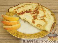 Фото к рецепту: Десертный творожный омлет