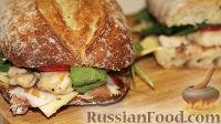 Фото к рецепту: Сэндвич