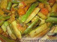 "Фото к рецепту: Гарнир ""Цуккини и помидоры"""