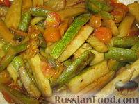"""Фото приготовления рецепта: Гарнир """"Цуккини и помидоры"""" - шаг №6"""