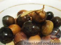 Фото к рецепту: Оливки засоленные