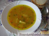 Фото к рецепту: Суп гороховый вегетарианский