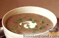 Фото к рецепту: Грибной суп-пюре с картофелем