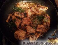 Фото к рецепту: Куриное филе с зеленью и пармезаном
