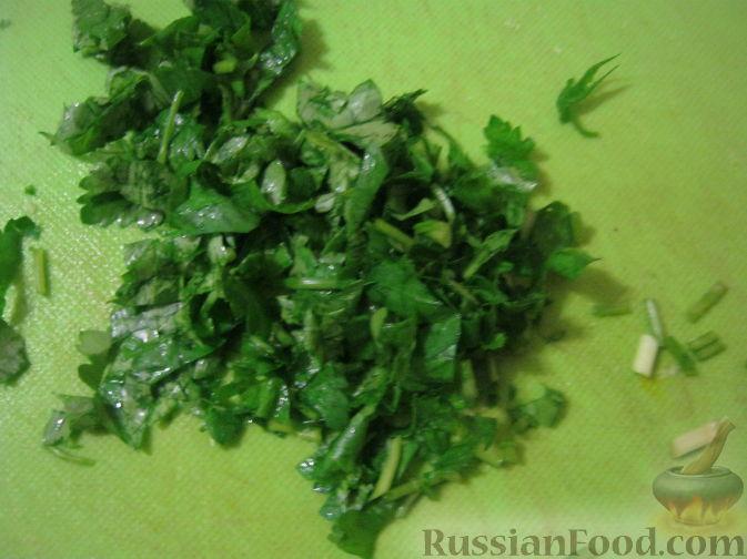 рецепт фарша для котлет с зеленью