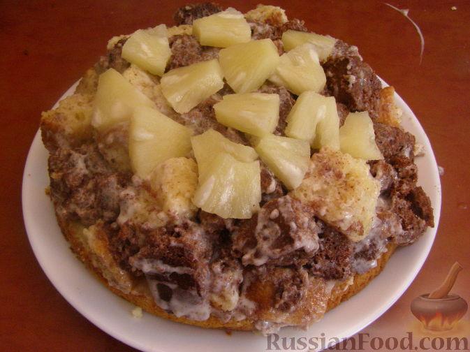 Рецепт панчо с ананасами