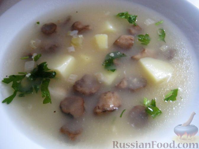 Постный суп с пшеном рецепт