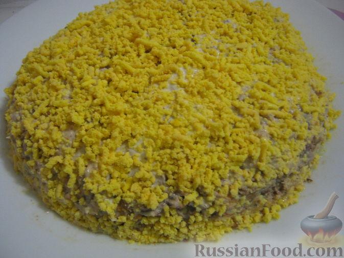 как салат мимоза с рисом рецепт
