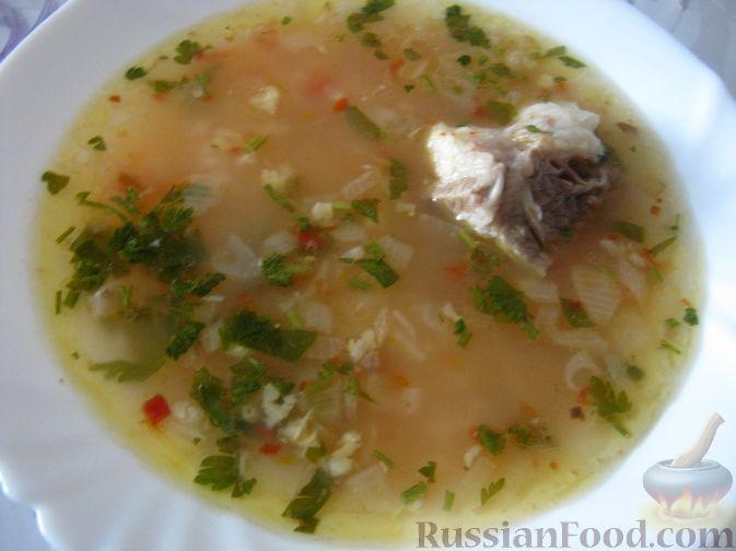 Рецепт Суп харчо из говядины с аджикой