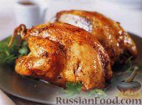 Фото к рецепту: Фазан, жаренный в духовке