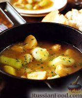 Фото к рецепту: Луковый суп с картофелем