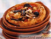 Фото к рецепту: Тарталетки из слоеного теста с овощной начинкой