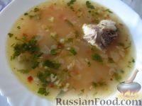 Фото к рецепту: Суп харчо из говядины с аджикой