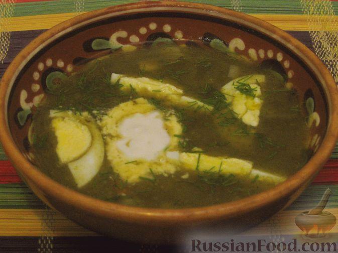 Рецепт Щи зеленые из щавеля