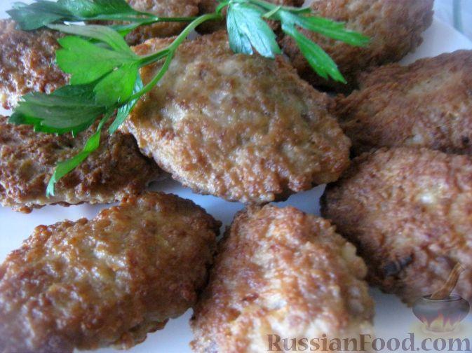 Рецепт Мясные котлеты-оладьи