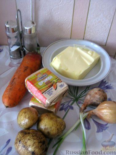 сырный суп-пюре с плавленным сыром рецепт с фото