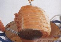 Фото приготовления рецепта: Ветчина с клюквенным соусом - шаг №3