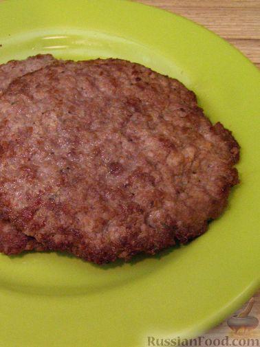 Рецепт Котлета для гамбургера