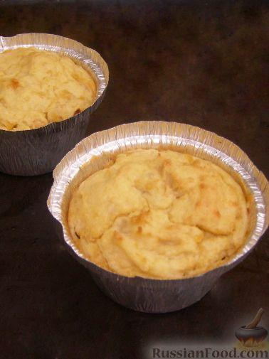 Рецепт Запеканка картофельно-гороховая