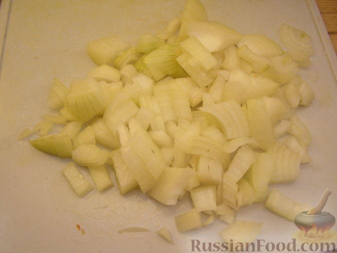 Фото приготовления рецепта: Суп-пюре из яблок и тыквы - шаг №11
