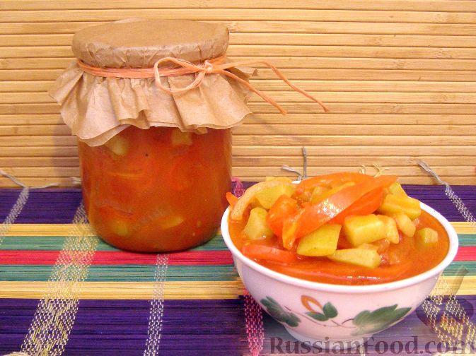 Рецепт Лечо с кабачками