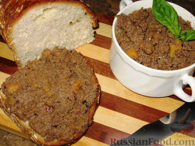 Рецепт Печеночный паштет с тыквой и орехами