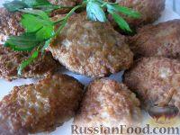 Фото к рецепту: Мясные котлеты-оладьи