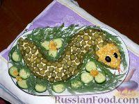 "Фото к рецепту: Салат ""Змея"""