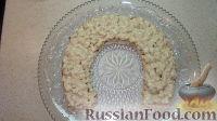 """Фото приготовления рецепта: Новогодний салат """"Подкова"""" - шаг №5"""