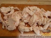 Фото приготовления рецепта: Паштет из куриного филе с грибами - шаг №7