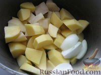 Фото приготовления рецепта: Домашние вареники с картошкой - шаг №2