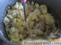 Фото приготовления рецепта: Домашние вареники с картошкой - шаг №4
