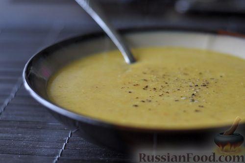 Рецепт Молочный суп-пюре из тыквы и картофеля