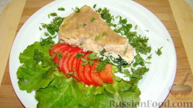 Рецепт Запеканка со шпинатом и фаршем
