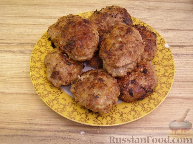 Рецепт Говяжьи котлеты с кабачком