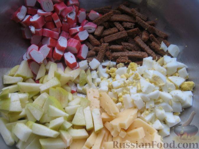 Фото приготовления рецепта: Рулет из лаваша с сельдью, свёклой, морковью и картофелем - шаг №13