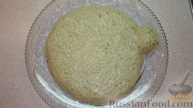 "Фото приготовления рецепта: Салат ""Дед Мороз"" - шаг №9"
