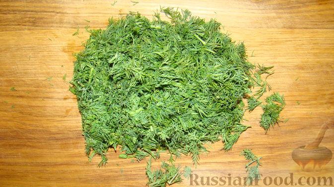 "Фото приготовления рецепта: Салат ""Дед Мороз"" - шаг №11"