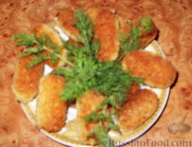 Рецепт Детские рыбные палочки