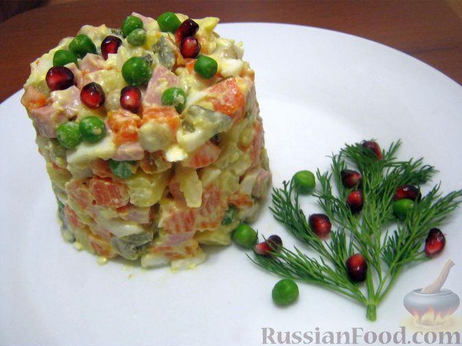 Салат крещатик рецепты фото