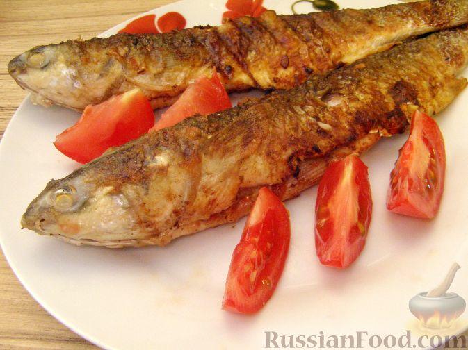Рецепт Жареный пеленгас, маринованный в аджике