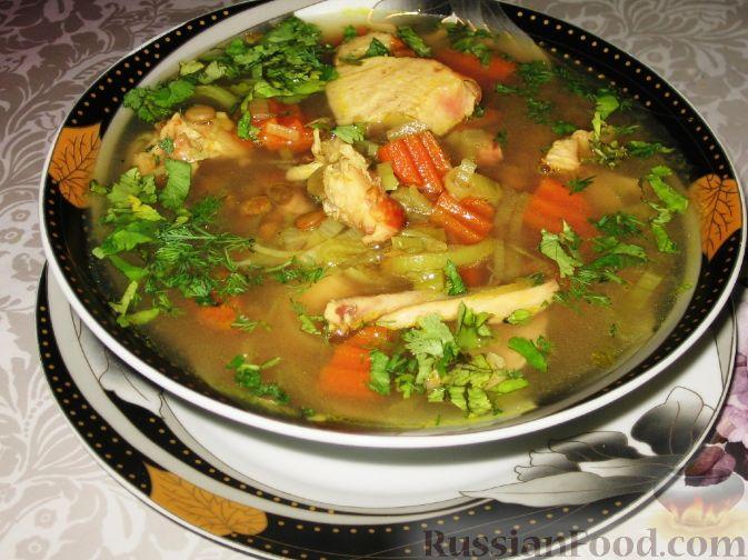 Рецепт супа с копченой грудкой