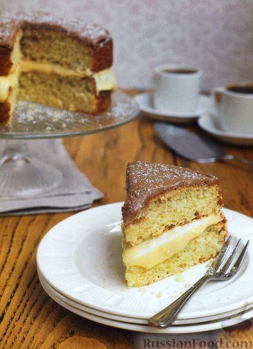 Рецепт Бостонский пирог