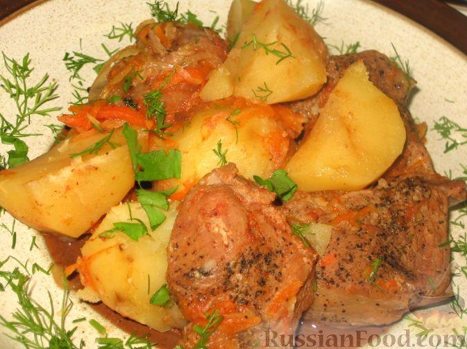 Рецепт Боснийский горшочек