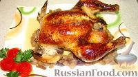 Фото к рецепту: Курица с виноградом