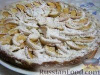 Фото к рецепту: Пирог песочный с яблоками