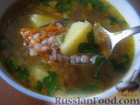 Фото к рецепту: Суп постный гречневый