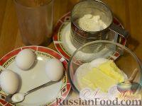 "Фото приготовления рецепта: Торт ""Птичье молоко"" (по классическому рецепту) на брауни - шаг №1"