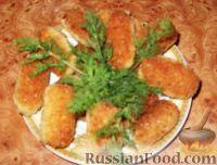 Фото к рецепту: Детские рыбные палочки