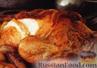 Фото к рецепту: Фаршированная курица